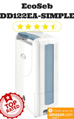 Top Rated Desiccant Dehumidifier -EcoSeb DD122EA SIMPLE