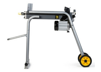TR Industrial TR89130 15 Amp Electric Log Splitter with Ergonomic Stand 5 Ton