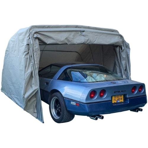 Ikuby Heavy Duty Portable Lockable Winter Carport